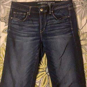 American Eagle Dark Wash Skinny Jeans
